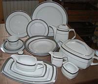 Набор обеденных тарелок 25см Pulaski E505