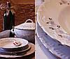 Набор обеденных тарелок 25см Rococo 9706