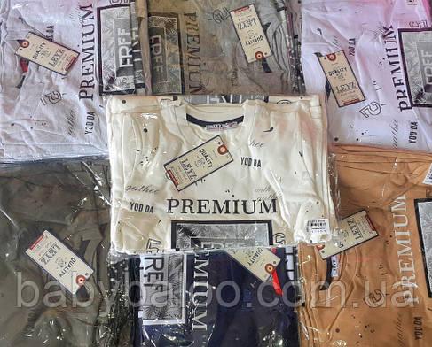 """Стильная футболка для мальчика """"Premium"""" (от 8 до 12 лет), фото 2"""