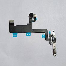 Шлейф Novacel для Apple iPhone 6 кнопки включения с микрофоном и вспышкой