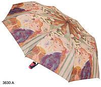 """Зонт женский полуавтомат """"Девушка с веером"""", фото 1"""