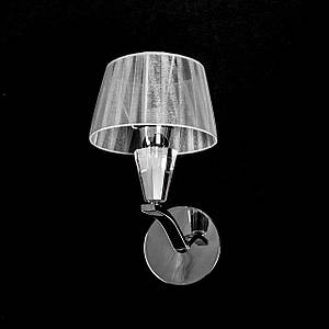 Бра на 1 лампочку с абажуром P13-5262/1W/CH