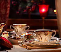 Чайный сервиз Rococo 0040 пурпурный