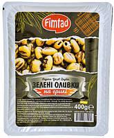 Оливки зеленые на гриле без косточек Fimtad 400 г (Турция)