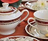 Чайний сервіз Cmielow Feston 1365 на 6 персон 15 предметів (5107), фото 2