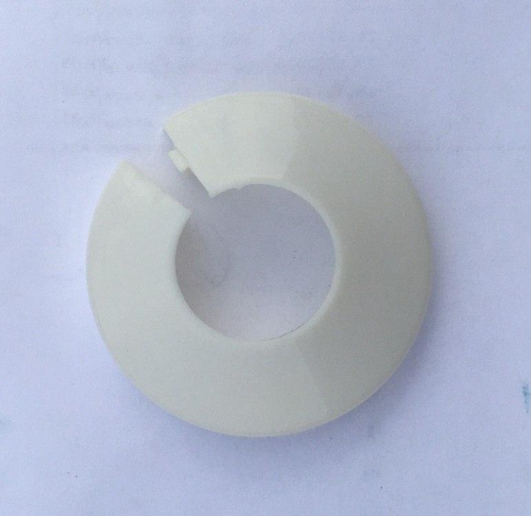 Декоративный фланец 16 мм пластиковый разборный Aqua-World ВР303-16