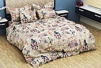 Комплект постельного белья Комфорт-текстиль Американская мечта бязь