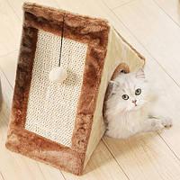 Игровой домик когтеточка для кошек складной