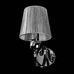 Бра на 1 лампочку с абажуром P13-6125/1W/CH