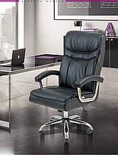 Офисное Кресло Руководителя Richman Бургас Флай 2230 Хром М2 AnyFix Черное
