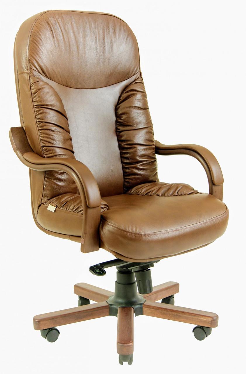 Офисное Кресло Руководителя Richman Буфорд Мадрас Marrone Wood Люкс М3 MultiBlock Светло-коричневое