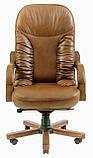 Офисное Кресло Руководителя Richman Буфорд Мадрас Marrone Wood Люкс М3 MultiBlock Светло-коричневое, фото 2