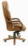 Офисное Кресло Руководителя Richman Буфорд Мадрас Marrone Wood Люкс М3 MultiBlock Светло-коричневое, фото 3