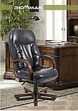 Офисное Кресло Руководителя Richman Буфорд Мадрас Marrone Wood Люкс М3 MultiBlock Светло-коричневое, фото 4