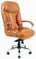 Офисное Кресло Руководителя Richman Буфорд Флай 2213-S Хром М2 AnyFix Светло-коричневое