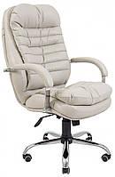 Офисное Кресло Руководителя Valencia Софитель 03 Хром М2 AnyFix Бежевое
