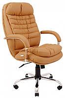 Офисное Кресло Руководителя Richman Валенсия Флай 2205 Хром М3 MultiBlock Коричневое