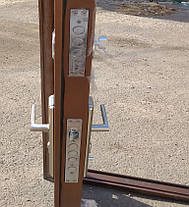 Наружные Китайские входные двери Kaiser К777-2 автолак медь на улицу, фото 3