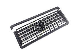 Решетка радиатора ВАЗ 2107 черная (без эмблемы) (пакет)