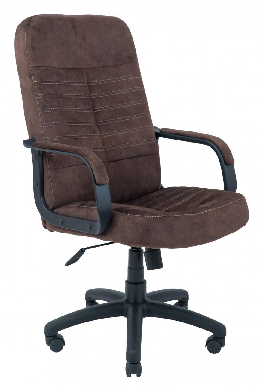 Офисное Кресло Руководителя Richman Вегас Alberta Chocolate Пластик Рич М2 AnyFix Коричневое