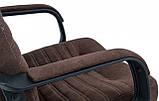 Офисное Кресло Руководителя Richman Вегас Alberta Chocolate Пластик Рич М2 AnyFix Коричневое, фото 4