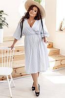 Женское платье батал 48 - 58 рр коттон, фото 1