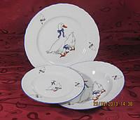 Набор обеденных тарелок 25см Rococo E280