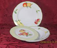 Набор обеденных тарелок 25см Feston E638