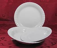 Набор плоских тарелок 21см Ivona 0000