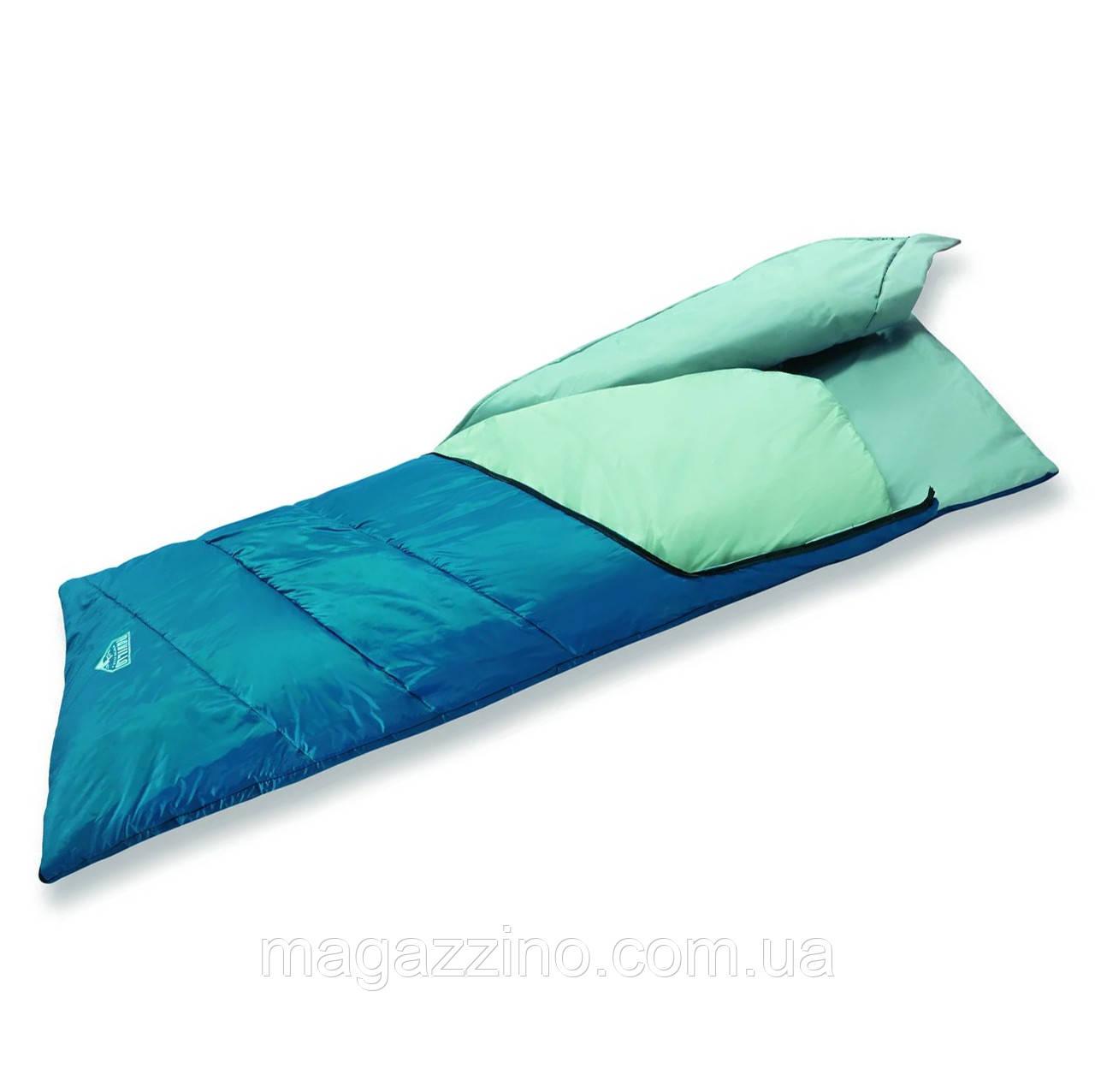 Двошаровий спальний мішок ковдру, Bestway Matric, 195 x 80 див.