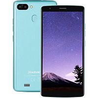 Смартфон блеквью голубой с двойной камерой и большим экраном на 2 sim Blackview A20 Pro Blue 2/16 гб