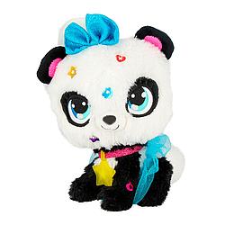 """Мягкая игрушка интерактивная Shimmer stars Панда Пикси с аксессуарами 28 см  """"Говорящая панда"""""""