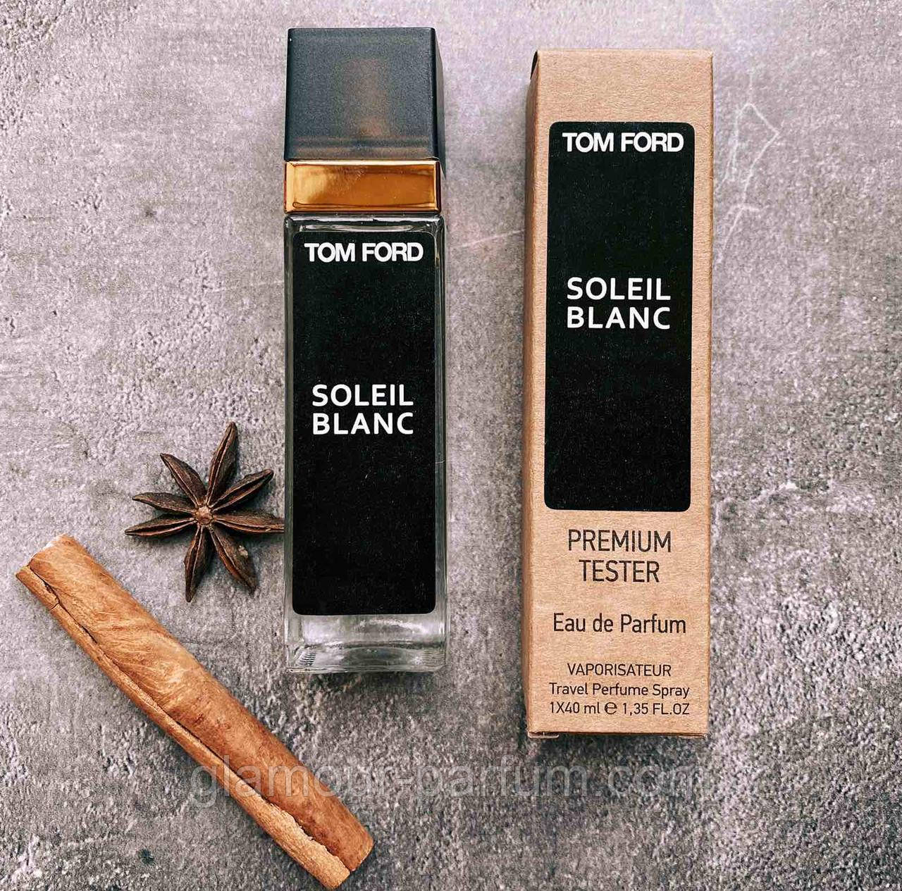 TESTER мини-парфюм Tom Ford Soleil Blanc (Том Форд Солейл Блон) 40мл реплика ОПТ