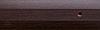 Порог алюминиевый 6А 0,9 метра венге 5х30мм скрытое крепление