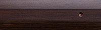 Порог алюминиевый 6А 0,9 метра венге 5х30мм скрытое крепление , фото 1