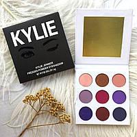 Палетка теней Kylie The Purple Palette 9 оттенков