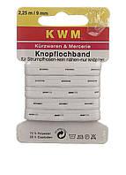 Резинка петельная KWM 2.25 м х 9 мм Белый RLA-88022301, КОД: 1723668