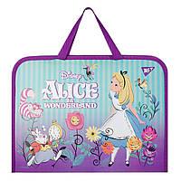 """Папка-портфель YES на молнии с тканевыми ручками """"Alice"""""""