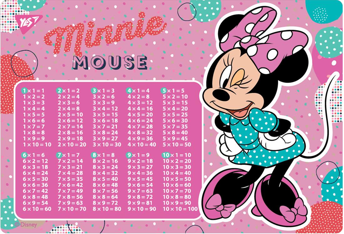 """Подложка для стола YES детская """"Minnie Mouse"""", умнож."""