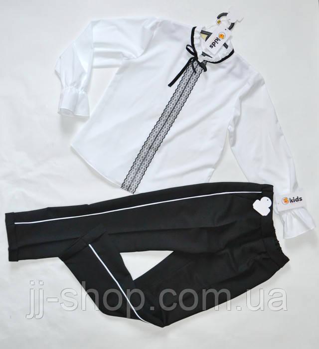 Детские классические брюки для  девочек