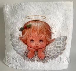 Плед детский крыжма 100*100см, крижма для хрещення, покривало дитяче преміум