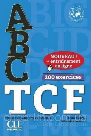 ABC TCF avec Corrigés, CD-mp3 et + Entainement en ligne / Cle International, фото 2