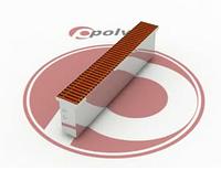 Внутрипольный конвектор POLVAX KE 230.2000.90