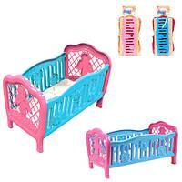 Детское игрушечное кроватка для кукол ТехноК