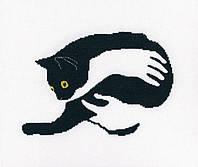 """""""Среди черных котов"""" RTO. Набор для вышивки крестом (M669)"""
