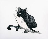 """""""Среди черных котов"""" RTO. Набор для вышивки крестом (M665)"""