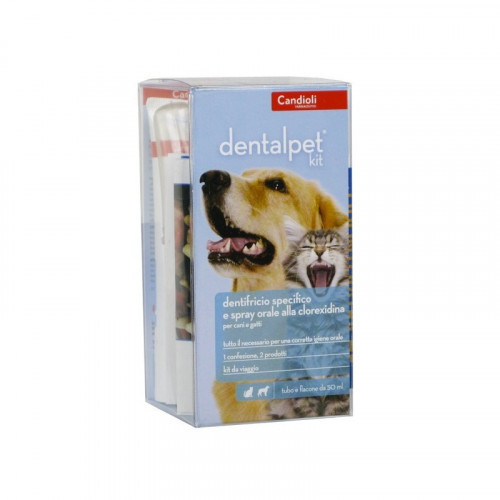 Спрей Candioli DentalPet Kit для ухода за ротовой полостью собак, 50 мл