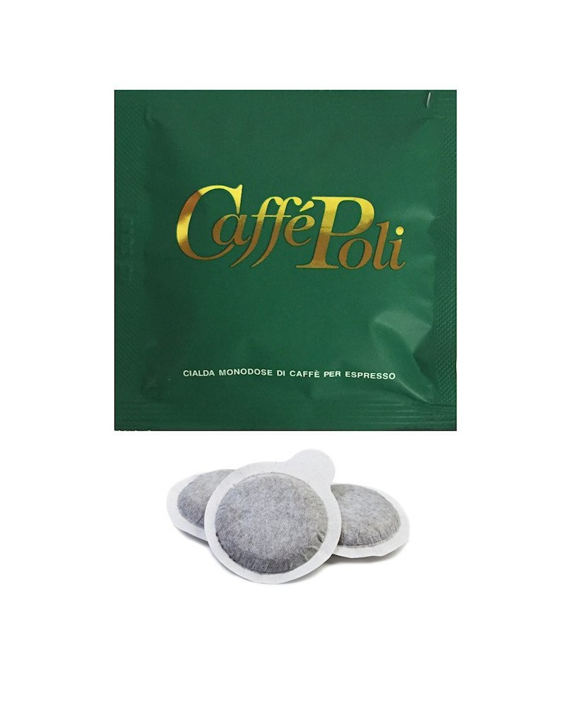 Кофе в чалдах (монодозах) Caffe Poli Verde 100шт., Италия (кофе в таблетках)