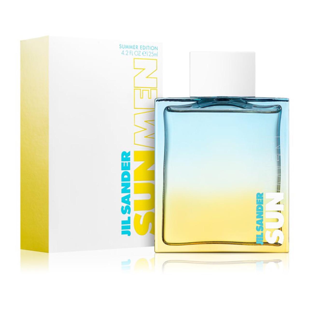 Новый летний аромат 2020 JIL SANDER Sun Men Summer Edition 125ml туалетная вода для мужчин древесный аромат