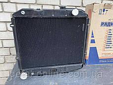 УЦЕНКА !!! Радиатор вод. охлажд. УАЗ (3-х рядн.) двиг.ЗМЗ-514 (пр-во ШААЗ) 3160-1301010-10, фото 3
